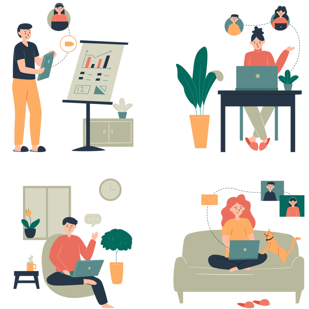 remote work productivity